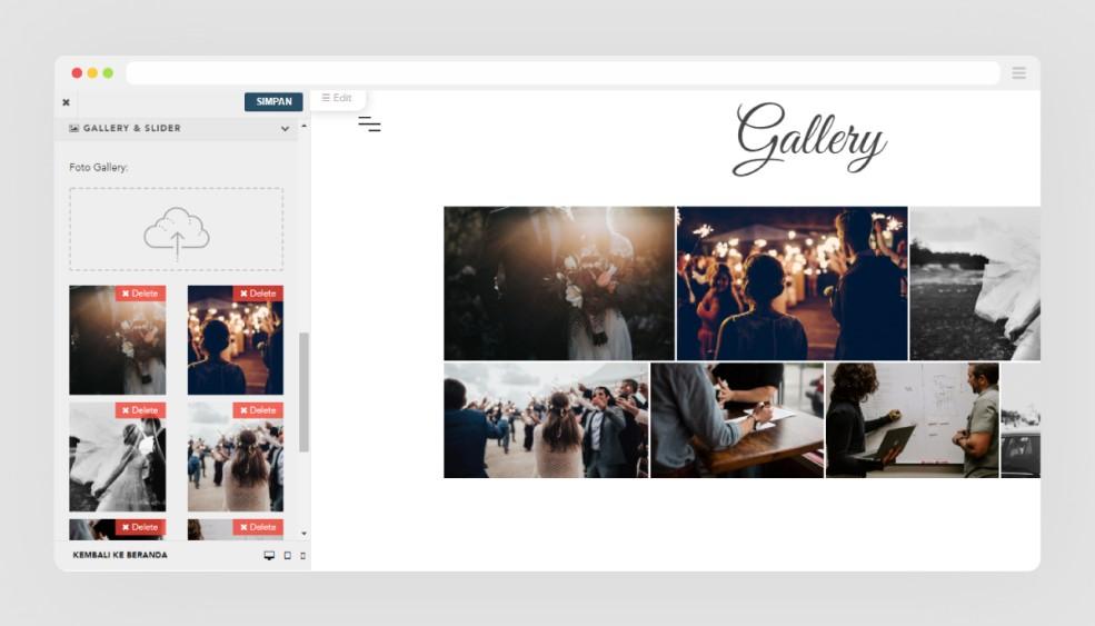 Upload foto dengan resolusi terbaik